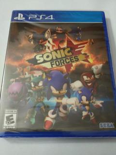 Sonic Forces Ps4 Nuevo Fisico Sellado