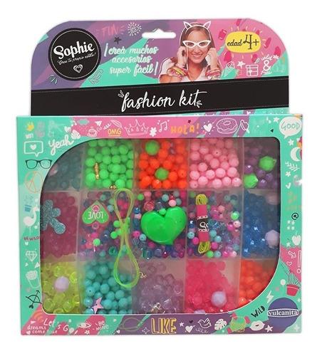 Imagen 1 de 6 de Sophie Fashion - Kit Set Grande Para Armar Pulseras Collares