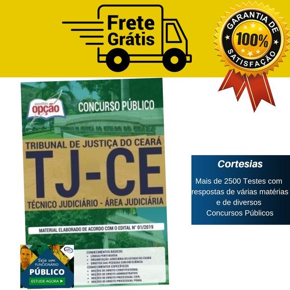 Apostila Técnico Tj Ce 2019 - Área Judiciária - Ceará