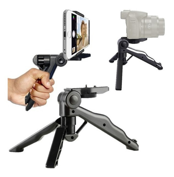 Mini Tripode Camara Fotograficas Y Celulares iPhone Android