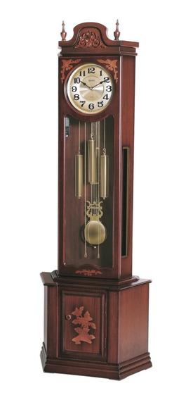 Relógio Pedestal Chão Carrilhão Westminster Pêndulo Sx Cuco