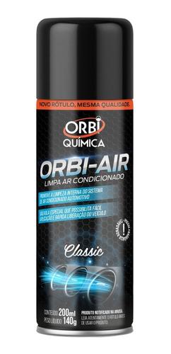 Spray Higienizador Limpa Ar Condicionado Orbi Classic