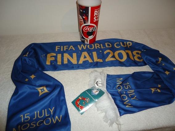 Memorabilia Recuerdo De La Final Del Mundial Rusia 2018
