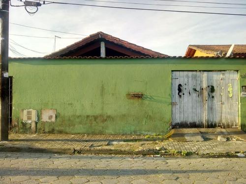 Casa Em Vera Cruz, Mongaguá/sp De 0m² 5 Quartos À Venda Por R$ 230.000,00 - Ca752670