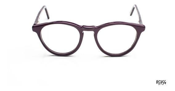 Armazones Anteojos Gafas Acetato Con Flex Zafhir R575