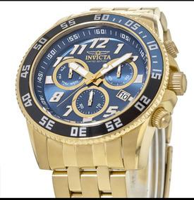 Relógio Invicta Original Diver Ed. Ltda 50mm Dourado Novo