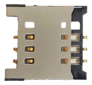 Leitor Conector Slot Chip LG B220 A275 E405f Kit 10 Unidade