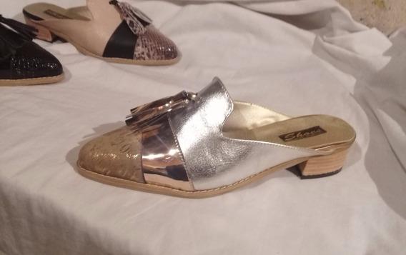 Zuecos Zapatos Mujer ,talles Grandes .
