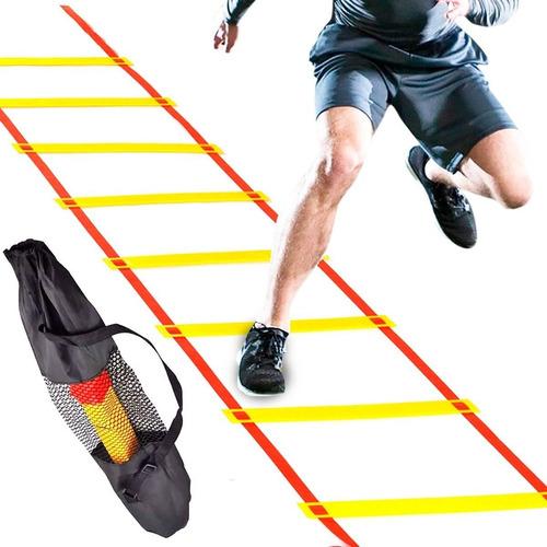 Imagen 1 de 7 de Escalera De Coordinación Y Entrenamiento + Bolso - El Rey