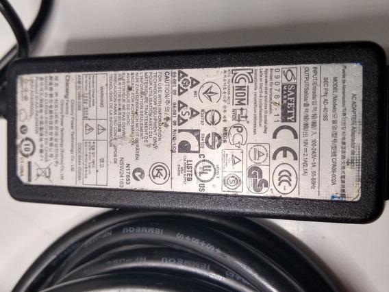 Carregador Notebook Samsung Rv419 Rv420 Original Usado