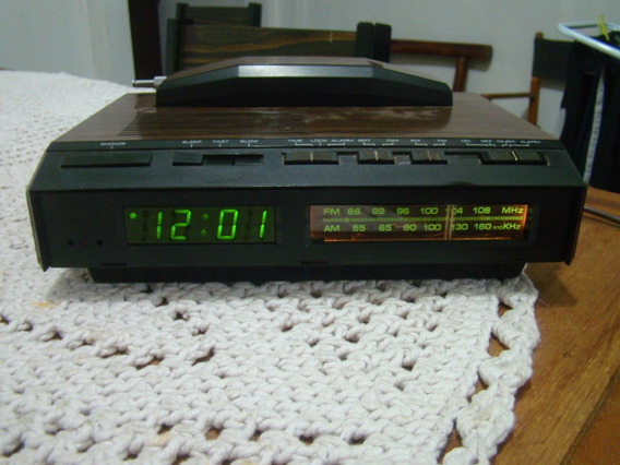 Rádio Relógio Telefone Cobra Rp- 740ba