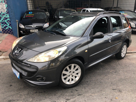 Peugeot 207 1.6 Sw Xs Automático 2009