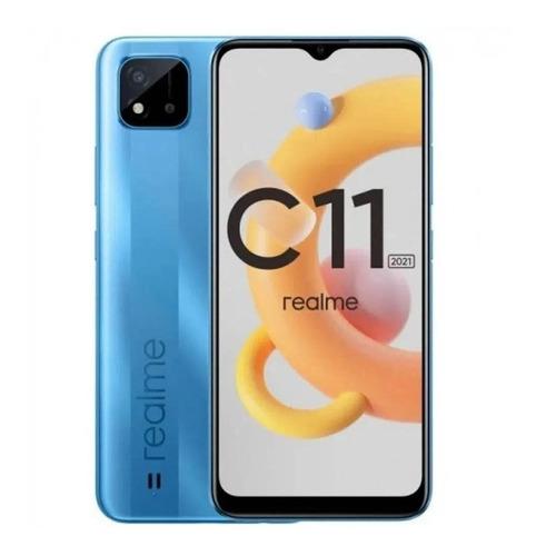Imagem 1 de 1 de Realme C11 (2021) Dual SIM 32 GB cool blue 2 GB RAM