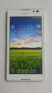 Celular Sony C C2304 C/ Defeito Para Peças Ou Aparelho Fake