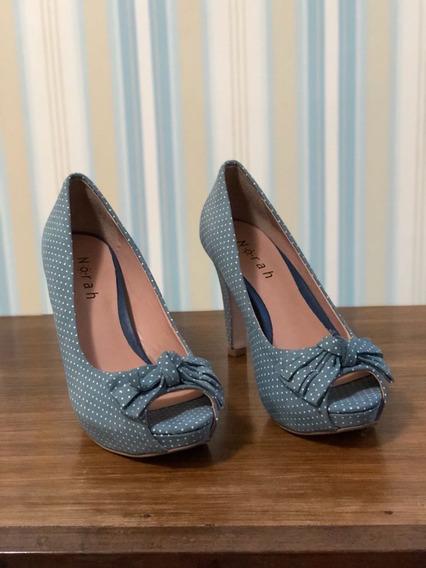 Sapato Feminino Salto Alto Norah Nr 35