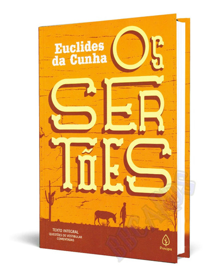 Livro Os Sertões Euclides Da Cunha Com Questões Do Enem