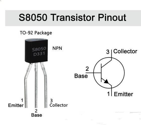 Transistor 2sc8050 = S8050 - Kit Com 10 Peças - 1292