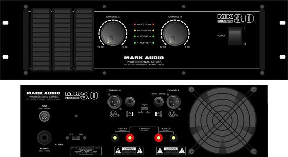 Amplif.markaudio De Potencia Mk 3.0/b