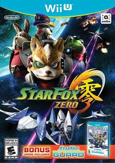 Star Fox Zero Wii U En Stock Nuevo Sellado