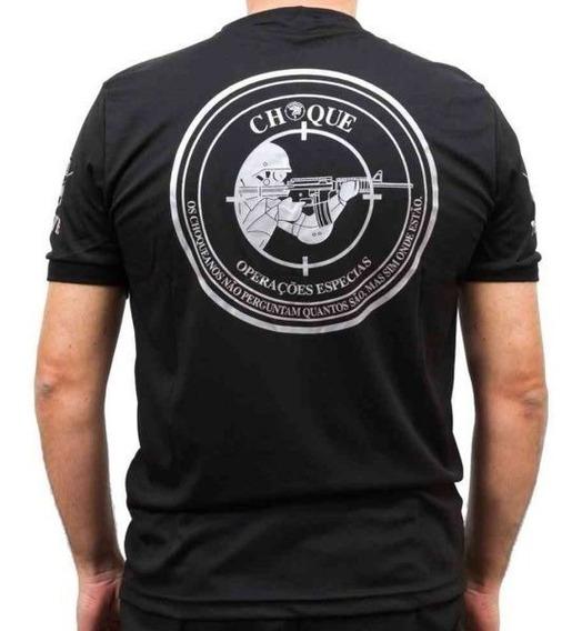 Camiseta Preta Choque Dry-fit - Bizurado