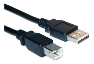 Cable Usb Para Impresora Láser O Tinta