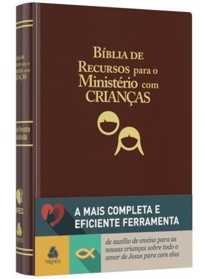 Bíblia De Recursos Para O Ministério Com Crianças Grande