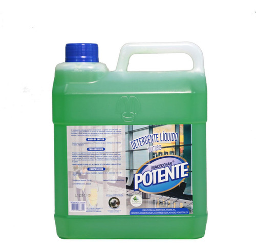 Detergente Líquido 403 Potente *3000 M - L a $4800