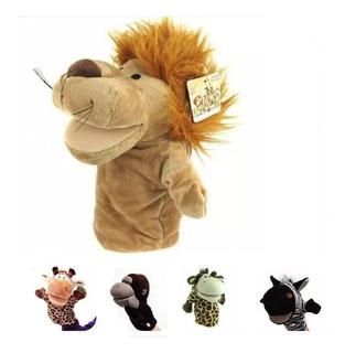 Marionetas Animales Juguete Titere Mano Para Bebé Peluche