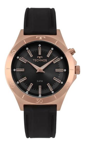 Relógio Technos Feminino Pulseira De Silicone Y121e3ab/8p