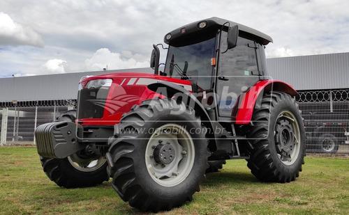 Trator Massey 4292 4×4 Ano 2018 Cabinado C/2000 Hora De Uso