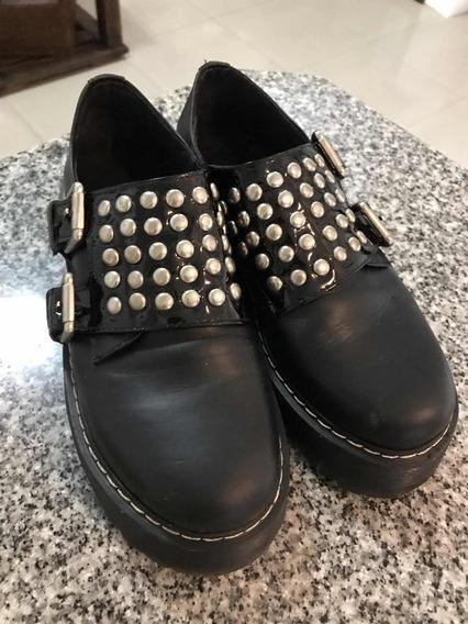 Zapatos Con Tachitas Impecables!