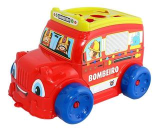 Brinquedo Educativo Didático Happy Bus Onibus Infantil