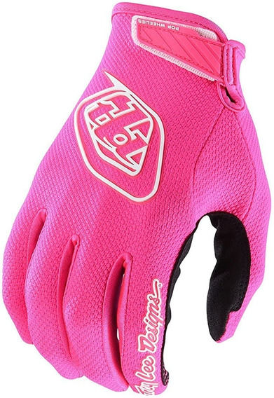 Guantes Cross Troy Lee Air Rosa Fluor