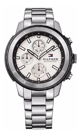 Relógio Tommy Hilfiger Masculino Aço Fundo Branco - 1791191