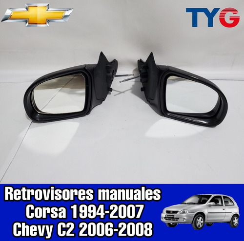 Espejo Retrovisor Chevrolet Corsa 92-06 Y Chevy 2006-08 Izqu
