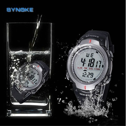 Relógio Masculino Synoke Wr50m Digital Pulso Top
