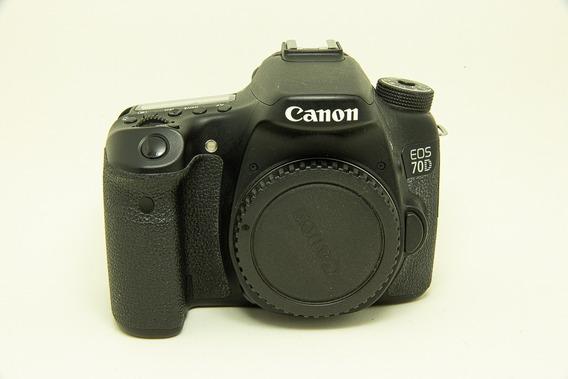 Câmera Canon Eos 70d Corpo 30k Clics
