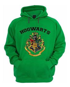 Blusa Moletom Harry Potter Hogwarts School Bruxo - Capuz