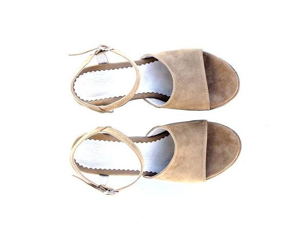 Zapatos Sandalias Mujer Taco Bajo Plataforma Temporada 2019