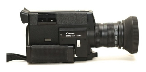 Canon 814xl Eletronic Super 8mm Câmera De Cinema Antiga