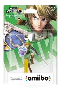 Amiibo Link Smash Bros Legend Of Zelda Wii U Switch 3ds 2ds