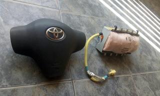 Air Bag O Bolsa De Aire D Volante Y Copiloto De Toyota Yaris