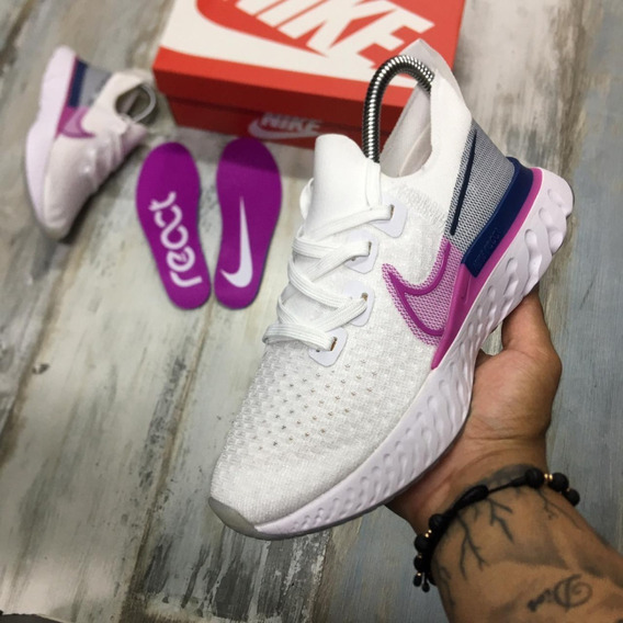 Zapatillas Tenis Nike Epic React Pro Mujer Original