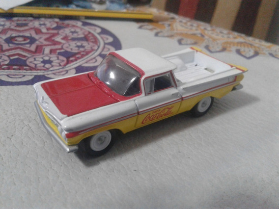 Chevrolet El Camino Escala 1/64 Coca Cola Johnny Lightning
