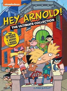 Hey Arnold La Serie Completa Ultimate En Dvd [original, Dhl]