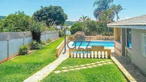 Linda Chácara Com 3 Dormitórios À Venda, 1000 M² Por R$ 700.000 - Usina - Atibaia/sp - Ch0521