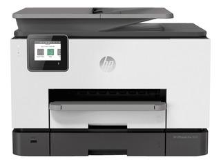 Impresora a color multifunción HP OfficeJet Pro 9020 con wifi 100V/240V blanca y negra