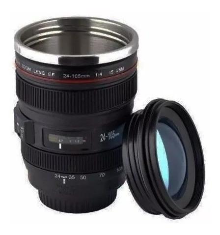 Copo Caneca Termica Bico Canon 24-105mm - Camera Digital