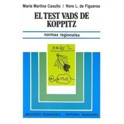 Imagen 1 de 3 de Test Vads De Koppitz.  Casullo  Libreria A La Calle   -gu-