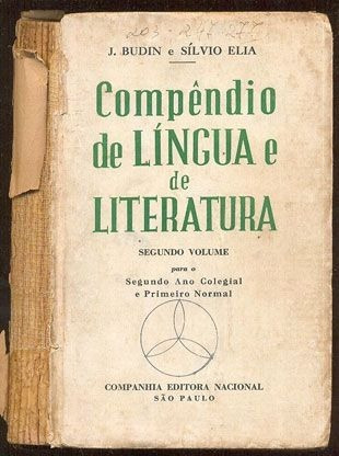 Compêndio De Língua E De Literatura 2º Volume - J. Budin